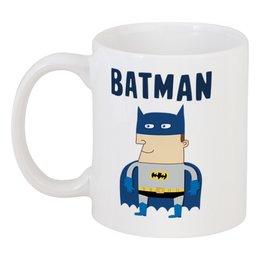 """Кружка """"Бэтмен"""" - прикольные, комиксы, batman, супергерои, бэтмен"""