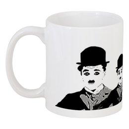 """Кружка """"Чарли Чаплин"""" - чарли, чаплин, звезда, кино, знаменитость"""