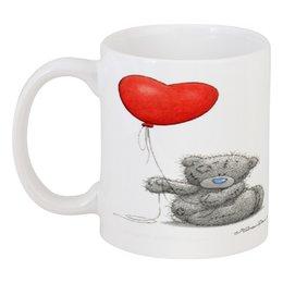 """Кружка """"мишка тедди"""" - любовь, love, сердца, мишка тедди"""