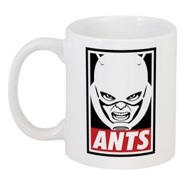 """Кружка """"Человек-муравей"""" - ant-man"""