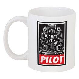 """Кружка """"Звездные Войны (Star Wars)"""" - star wars, пилот"""