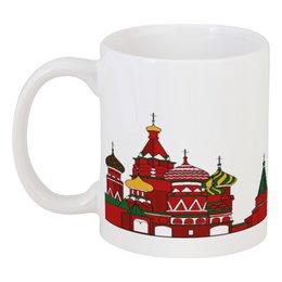 """Кружка """"Московский Кремль"""" - москва, moscow, россия, russia, кремль"""