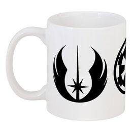 """Кружка """"Звёздные войны"""" - империя, звёздные войны, республика, джедаи"""