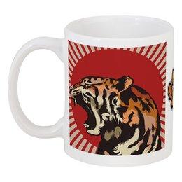 "Кружка ""Тигр арт"" - арт, tiger, тигр, звери, дикая природа"