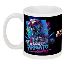 "Кружка ""Arnold Schwarzenegger"" - arnold schwarzenegger, терминатор, terminator, predator, арнольд шварцнегер"