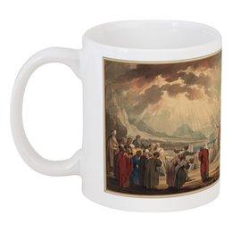 """Кружка """"Избрание семидесяти старейшин Моисеем"""" - картина, якоб де вит"""