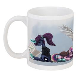 "Кружка ""Bad morning"" - утро, pony, mlp, пони"