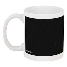 """Кружка """"Космос """" - космос, черная, космонавт"""