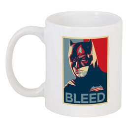 "Кружка ""Бетмэн (batman)"" - batman, dc, бетмэн, bleed"