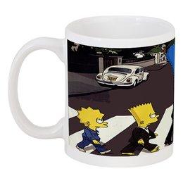 """Кружка """" The Simpsons"""" - симпсоны, the beatles, the simpsons"""
