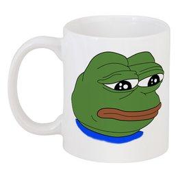 """Кружка """"Pepe Frog"""" - мем, meme, sad frog, pepe frog, pepe the frog"""