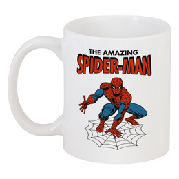 """Кружка """"Человек-паук"""" - комиксы, супергерои, spider man, человек паук, spiderman"""