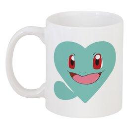 """Кружка """"Покемон"""" - pokemon, покемон, аниме, сердце"""