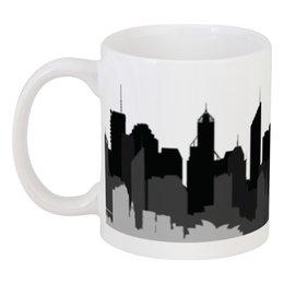"Кружка ""Город мечты"" - арт, стиль, авангард, города, страна"