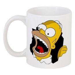 """Кружка """"Гомер Симпсон"""" - прикол, арт, юмор, simpsons"""