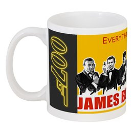 "Кружка ""James Bond"" - james bond, агент 007, шон коннери, джеймс бонд, sean connery"