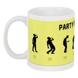 """Кружка """"Party Revolution"""" - алкоголь, drink, alcohol, тусовка, пить"""