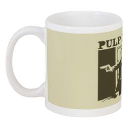 """Кружка """"Pulp Fiction"""" - кино, фильм, тарантино, криминальное чтиво, pulp fiction"""