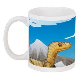 """Кружка """"Динозавры"""" - динозавры, животное"""