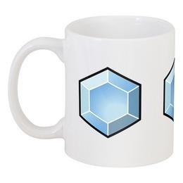 "Кружка ""Crystal mug"" - арт, оригинально"