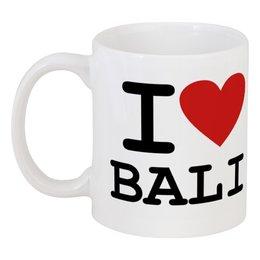 """Кружка """"Я люблю Бали"""" - i love bali, бали, я люблю бали, bali, сердце"""