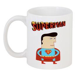 """Кружка """"Супермен"""" - супермен, прикольные, комиксы, superman, супергерои"""