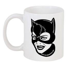 "Кружка ""Женщина-кошка (Catwoman)"" - бдсм, catwoman"