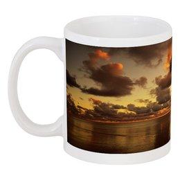 """Кружка """"южный закат"""" - красота, облака, природа, закат"""