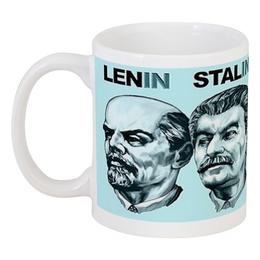 """Кружка """"Leaderboard"""" - ленин, alien, путин, сталин, лидеры"""
