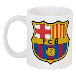"""Кружка """"FC Barcelona"""" - оригинально, кружка"""