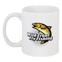 "Кружка ""Форель"" - рыбалка, форель, нахлыст, fly-fishing, кумжа"