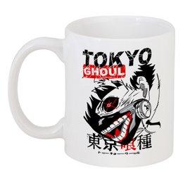 "Кружка ""Токийский гуль"" - аниме, манга, токийский гуль, tokyo ghoul, кэн канэки"