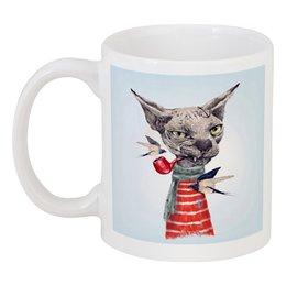 """Кружка """"Котяра"""" - cat, котик, bad cat, котяра"""