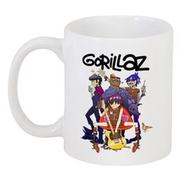 """Кружка """"Gorillaz"""" - gorillaz, гориллаз, музыка, группы"""