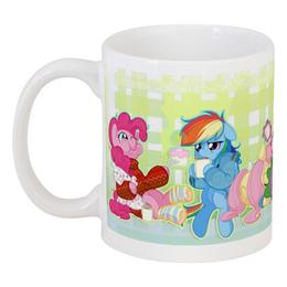"Кружка ""Morning Ponies"" - арт, доброе утро, pony, mlp"