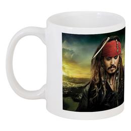"Кружка ""Джек Воробей"" - пираты, джек воробей, карибы, весёлый роджер"