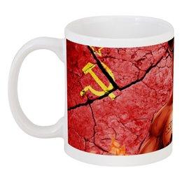 """Кружка """"Сталин СССР"""" - арт, ссср, коммунизм, сталин, социализм"""