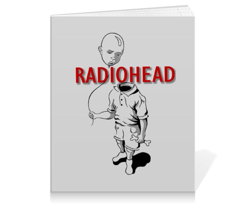 Тетрадь на клею Printio Radiohead cd из японии radiohead