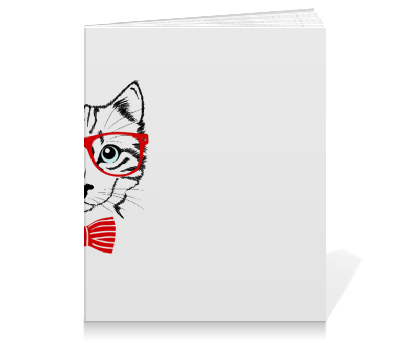 Тетрадь на клею Printio Кошка андрей дашков домашнее животное