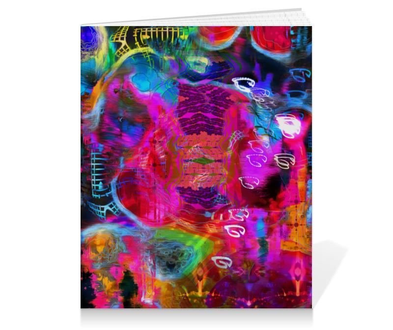 Тетрадь на клею Printio Abstract raster 372