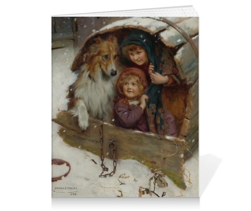 Тетрадь на клею Printio Картина артура элсли картины в квартиру картина etude 2 102х130 см