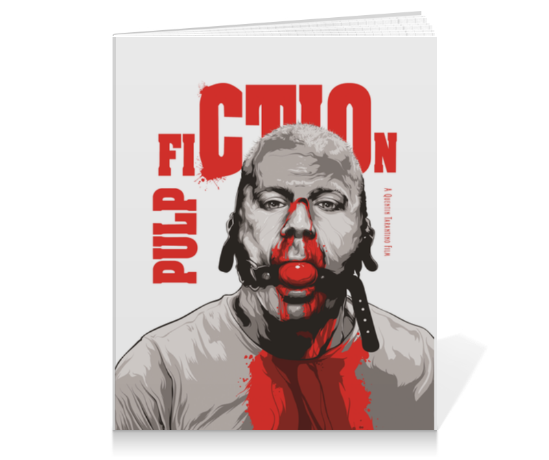 Тетрадь на клею Printio Pulp fiction (брюс уиллис) тетрадь на клею printio pulp fiction брюс уиллис