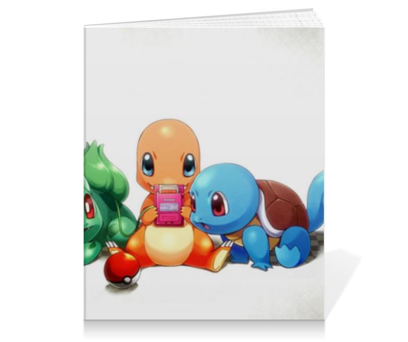 Тетрадь на клею Printio Покемоны тетрадь на клею printio pixels
