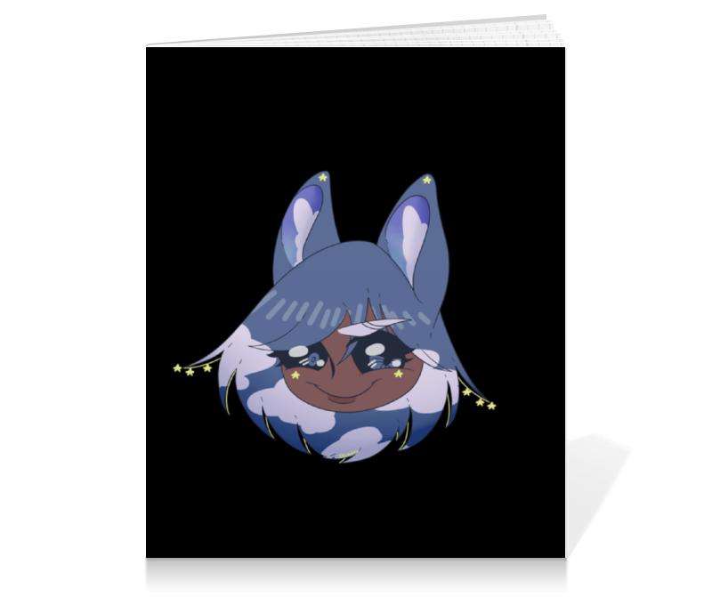 Тетрадь на клею Printio Блокнот с оригинальным персонажем хириша визз блокнот printio кошка