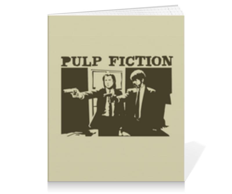 Тетрадь на клею Printio Pulp fiction тетрадь на клею printio pulp fiction сэмюэл джексон