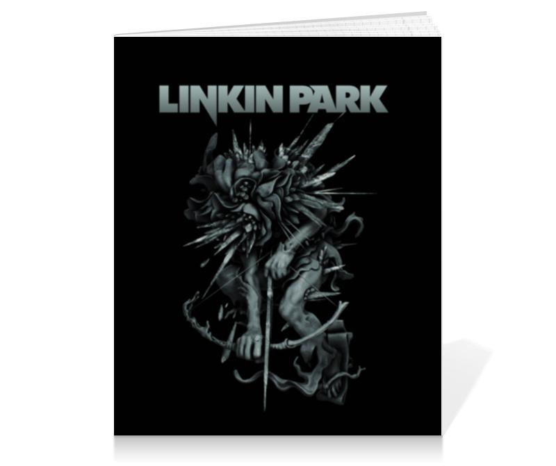 Тетрадь на клею Printio Linkin park тетрадь на клею printio физика