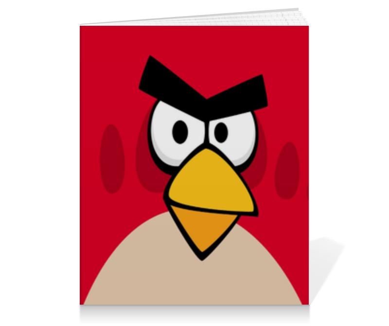 Тетрадь на клею Printio Angry birds (terence) тетрадь на пружине printio space angry birds