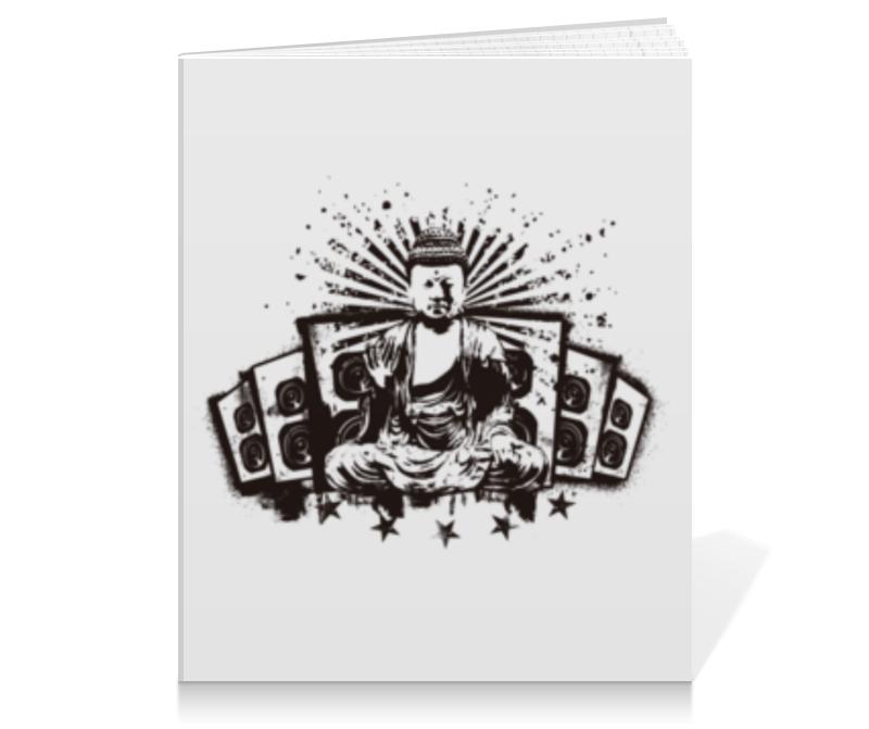 Тетрадь на клею Printio Будда (акустика)