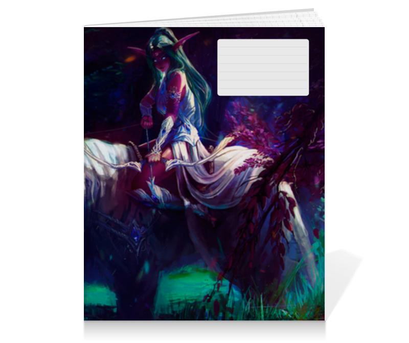 Тетрадь на клею Printio Warcraft collection эспадрильи zenden collection zenden collection ze012agpre18