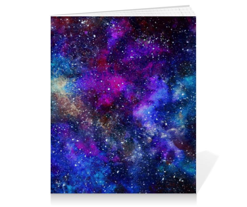 Тетрадь на клею Printio Space тетрадь